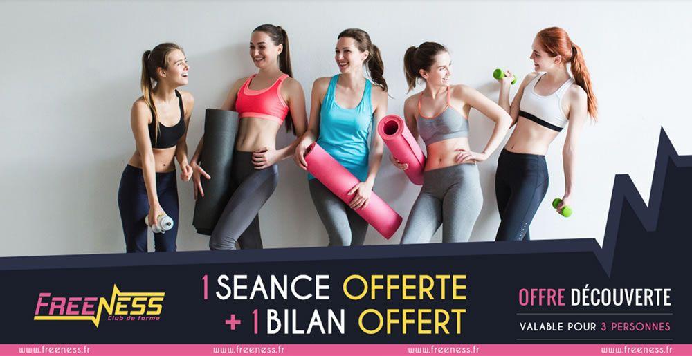 Club fitness Toulouse : Freeness - Créateur d'énergie